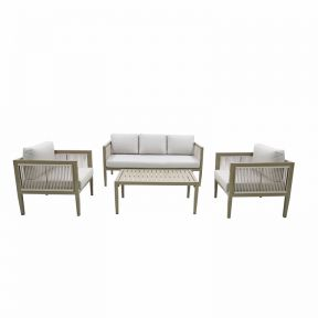 FP Collection Belmont Outdoor 4 Seater Lounge Setting