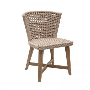 FP Collection Woodford Outdoor Dining Chair Wheat