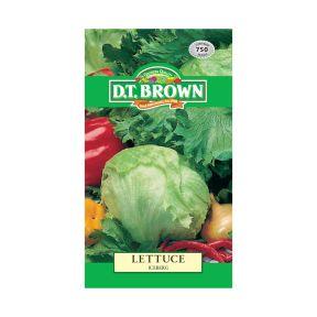 D.T. Brown Lettuce Iceberg  ] 5030075022718 - Flower Power