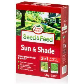 Lawn Builder  Seed & Feed Sun & Shade  ] 9311105005120 - Flower Power