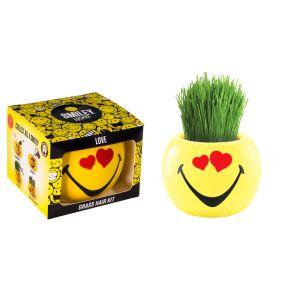 Grass Hair Kit Smiley Faces - Love