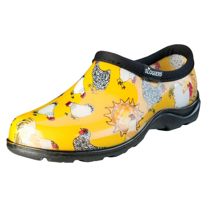 Sloggers Women's Splash Shoe Chicken  ] 091053505284P - Flower Power