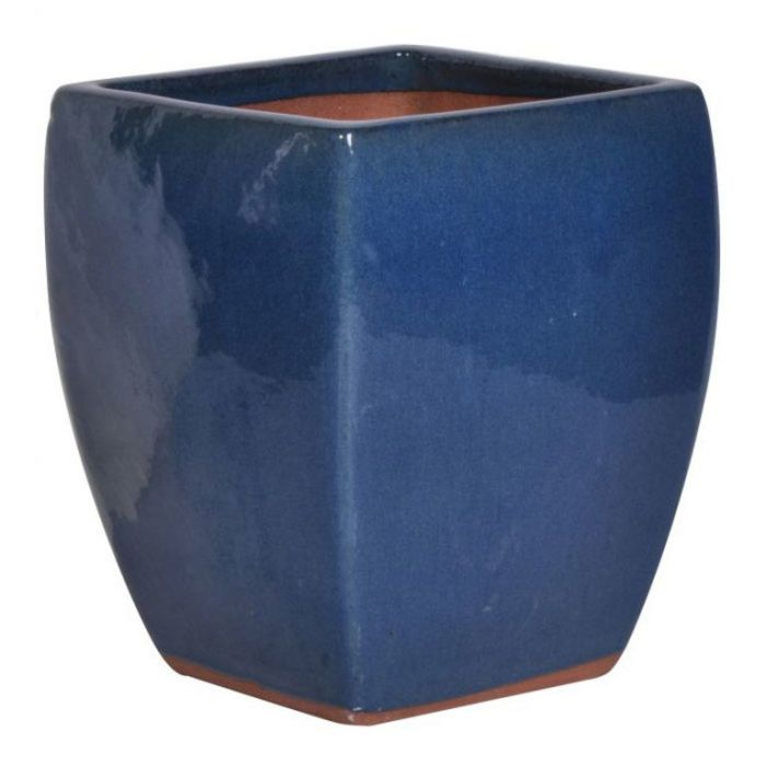 FP Collection Glazed Square Pot  ] 118627P - Flower Power