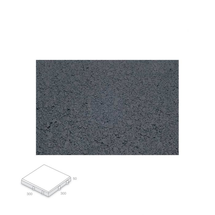 Broadway Villapave Charcoal Paver Delivery Only  ] 140101 - Flower Power
