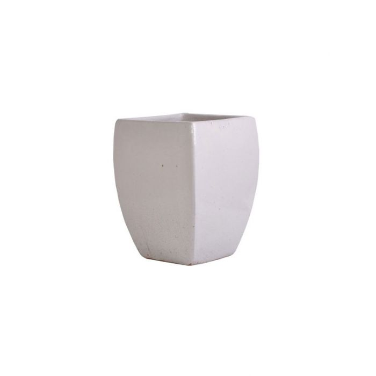 FP Collection Glazed Square Pot  ] 142642P - Flower Power