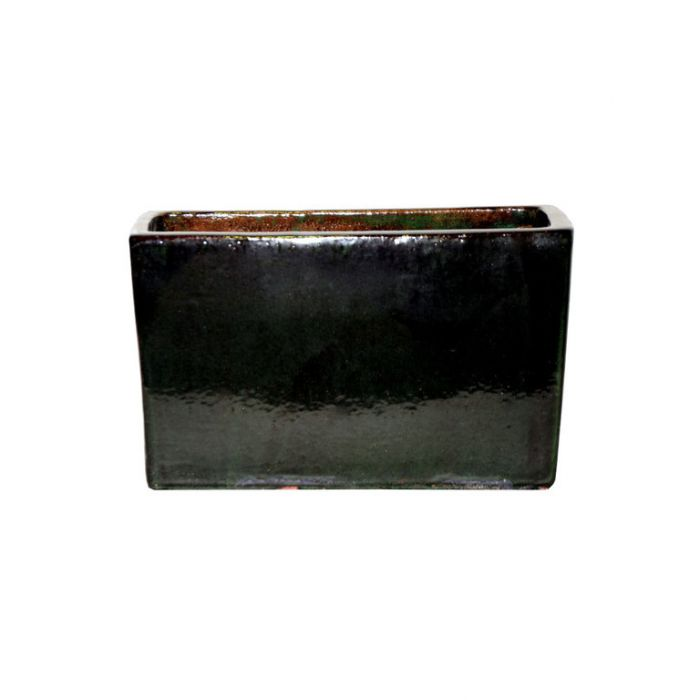 FP Collection Glazed Euro Trough Green  ] 143638P - Flower Power