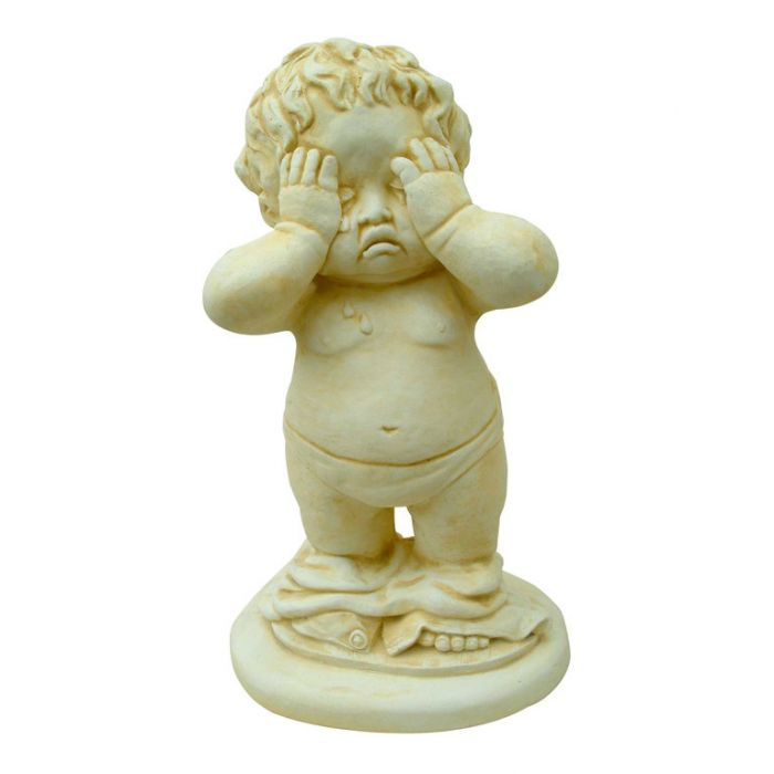 Statue Boy with Pants Down  ] 148864 - Flower Power