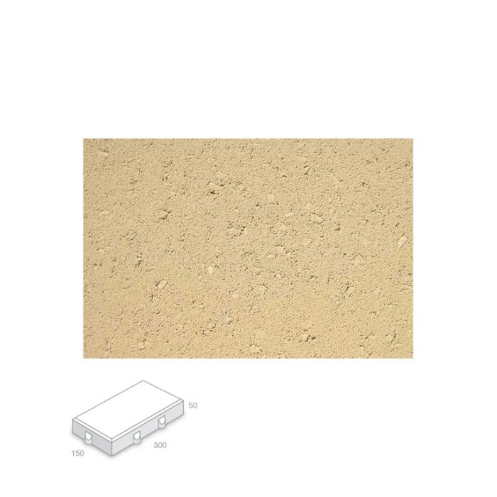 Broadway Almond Paver Delivery Only  ] 150481P - Flower Power