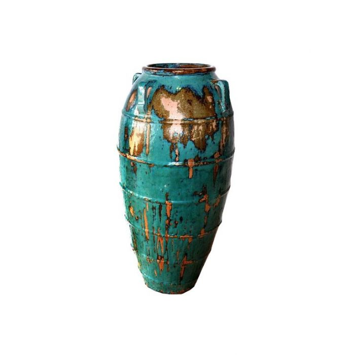 FP Collection Glazed Rib Urn  ] 153776P - Flower Power
