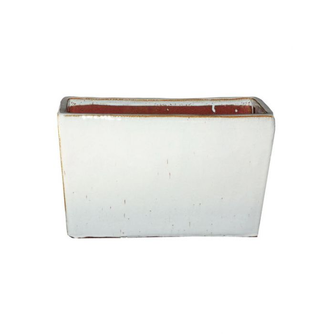 FP Collection Glazed Euro Trough White  ] 155557P - Flower Power