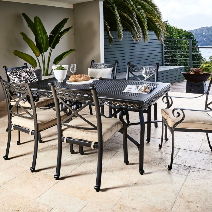 FP Collection Carmel Outdoor Dining Setting  ] 156082 - Flower Power