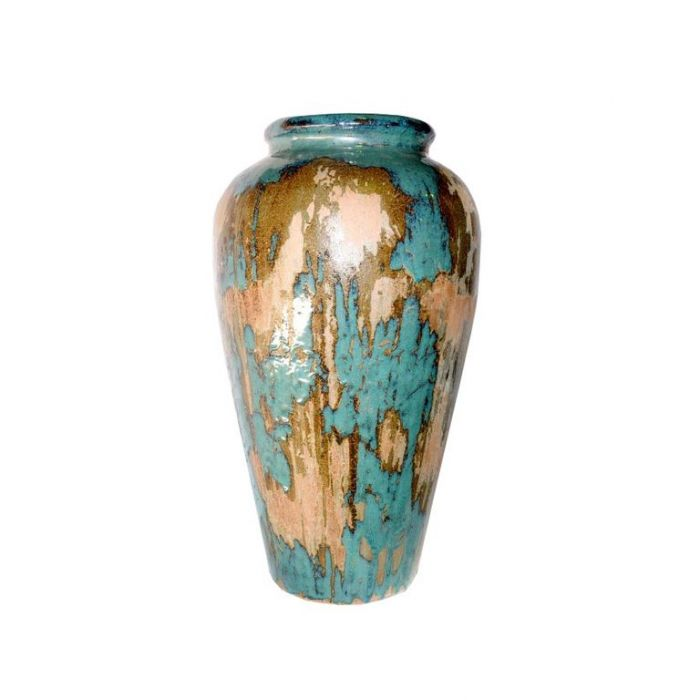 FP Collection Glazed Tall Urn With Lip  ] 157447P - Flower Power