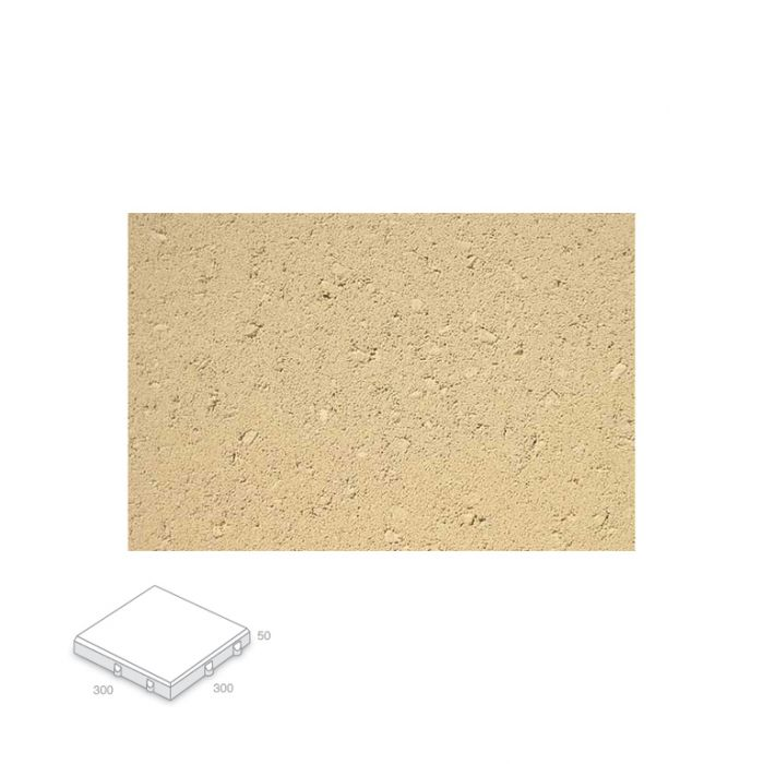 Broadway Villapave Paver Almond Delivery Only  ] 157649 - Flower Power