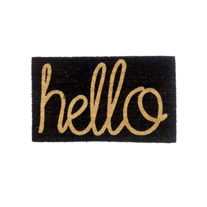 FP Collection Door Mat Hello  ] 163243 - Flower Power