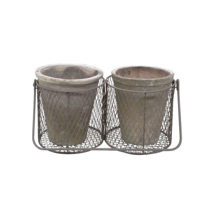 FP Collection Tao Wire Basket Set of 2  ] 164320 - Flower Power