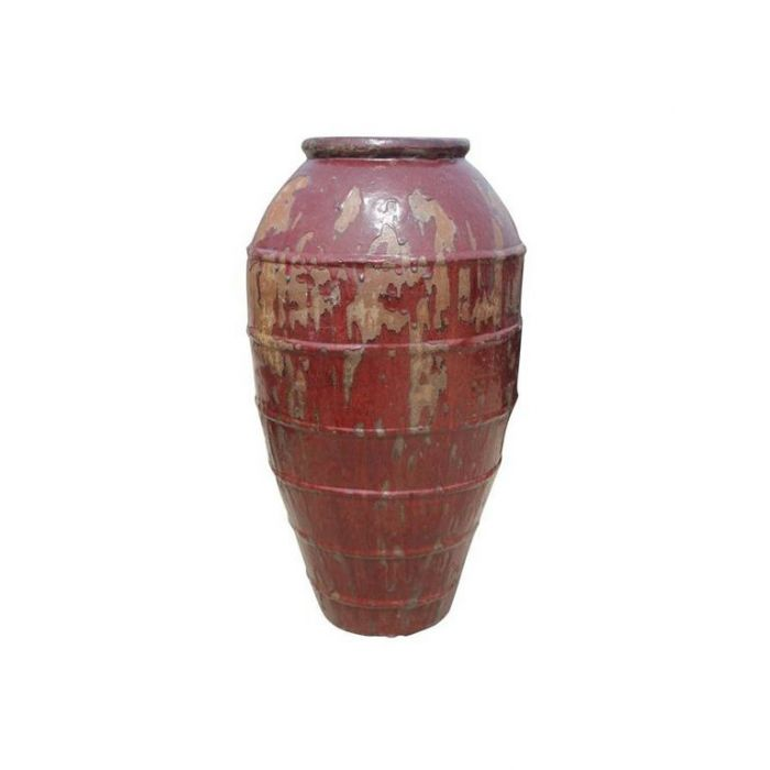 FP Collection Glazed Rib Urn  ] 164910P - Flower Power