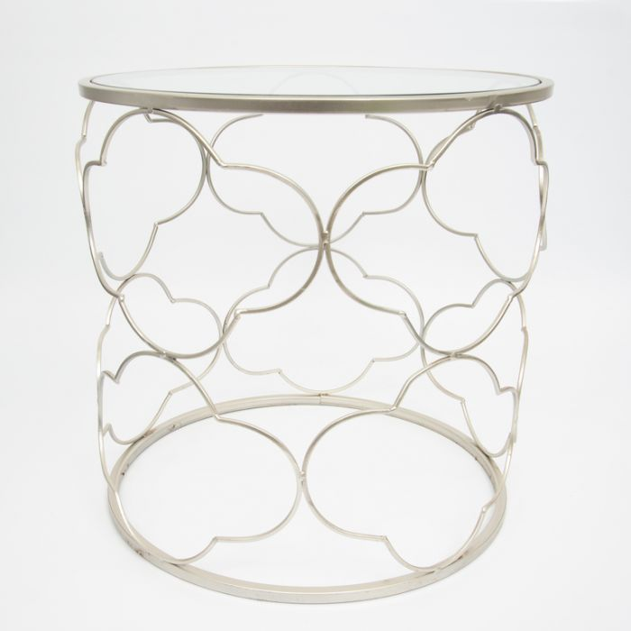 FP Collection Indoor Scroll Side Table  ] 166008 - Flower Power