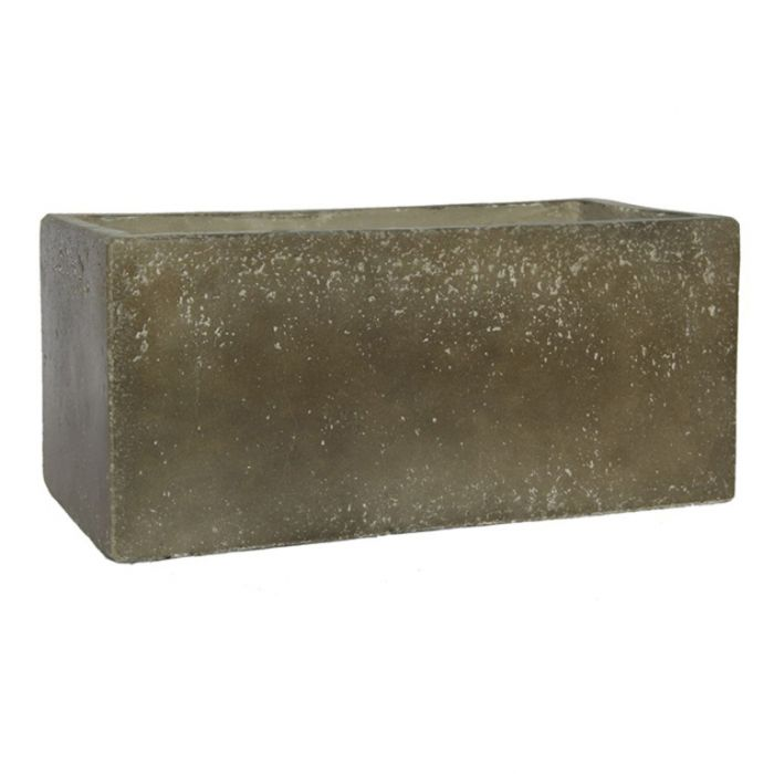 FP Collection Arella Cement Trough  ] 167024P - Flower Power