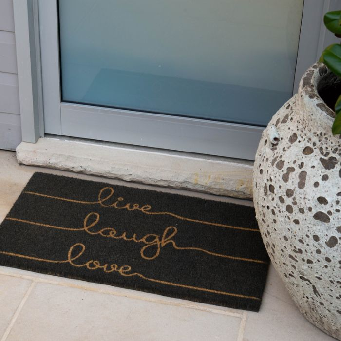 FP Collection Door Mat Live Laugh Love  ] 167465 - Flower Power