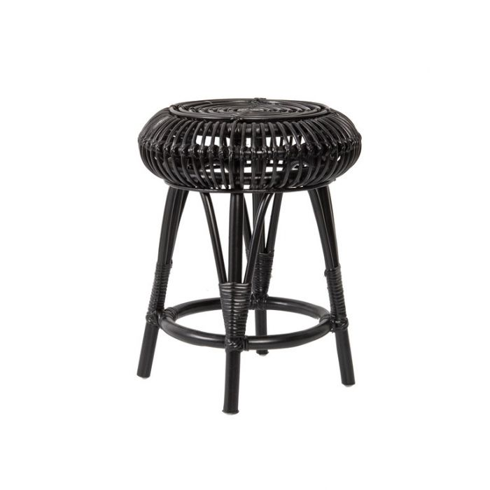 FP Collection Lagoon Stool Black  ] 169504 - Flower Power