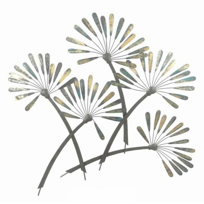 FP Collection Dandelion Metal Wall Art  ] 172567 - Flower Power