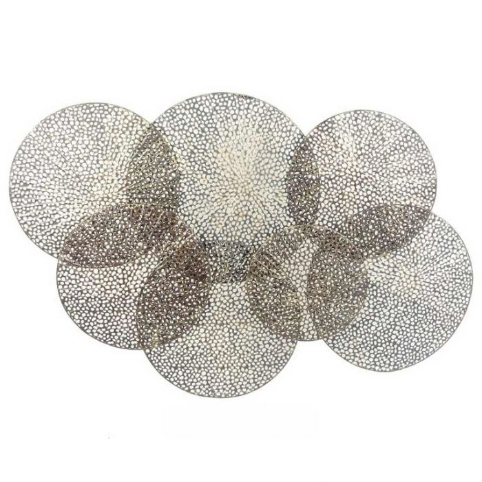 FP Collection Circles Metal Wall Art  ] 172569 - Flower Power