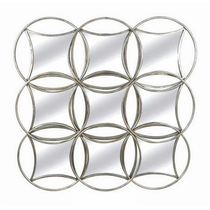 FP Collection Diamond Metal Wall Mirror  ] 172571 - Flower Power
