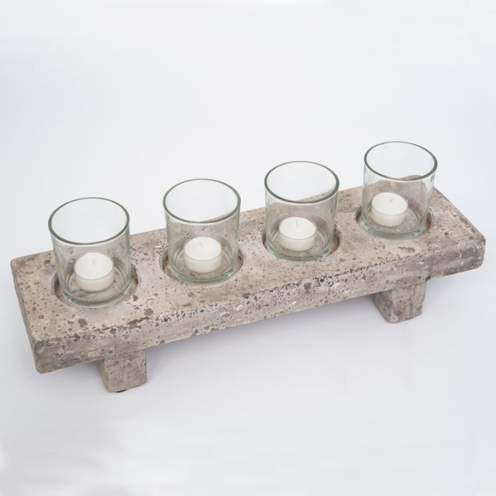 FP Collection Atlantis Tealight Holder  ] 172777P - Flower Power
