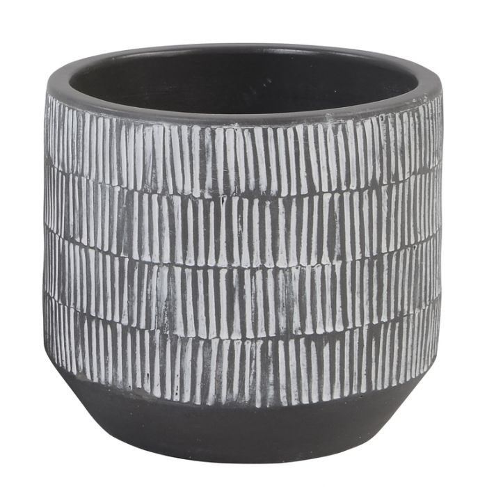 FP Collection Mali Planter Charcoal  ] 174823 - Flower Power