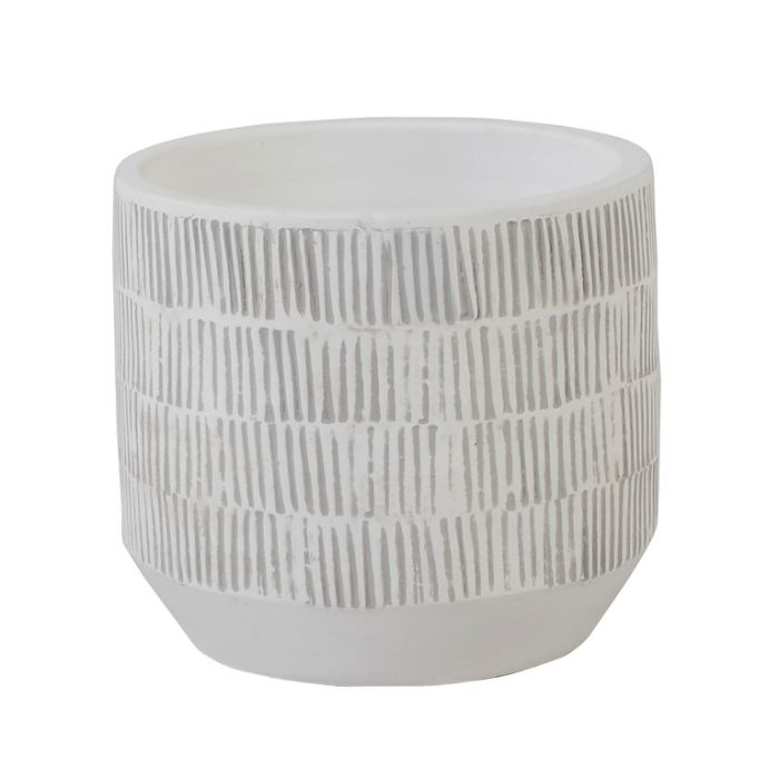 FP Collection Mali Planter White  ] 174825 - Flower Power