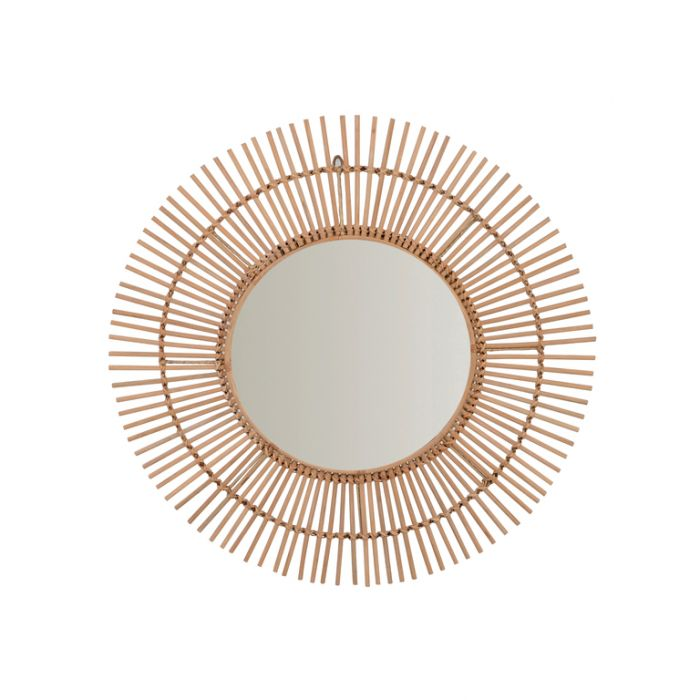FP Collection Euston Natural Cane Wall Mirror  ] 174895 - Flower Power