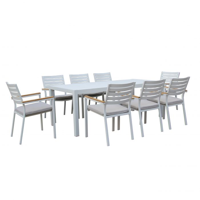 FP Collection Resort Outdoor Dining Setting  ] 174971 - Flower Power