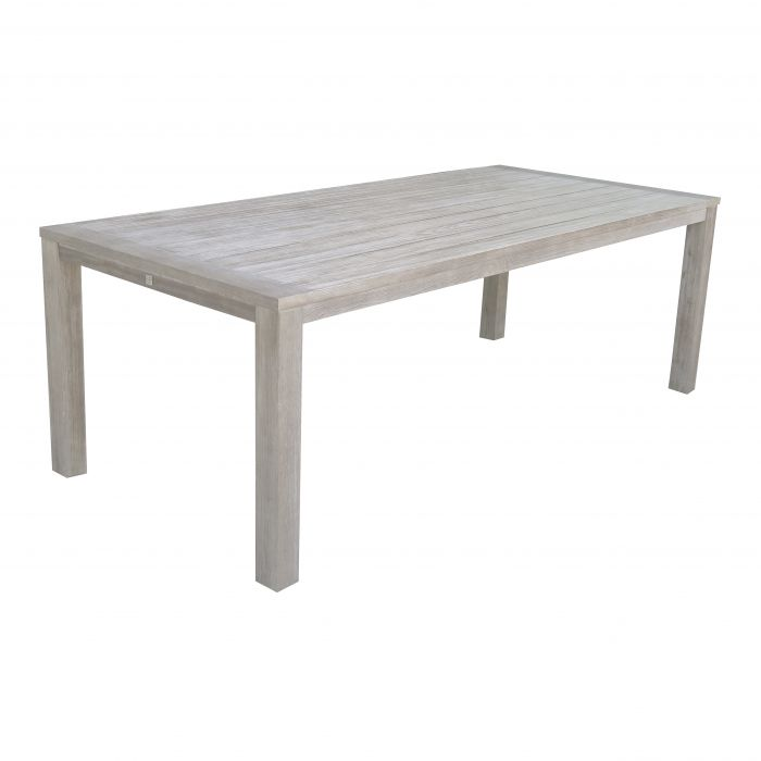 FP Collection Dune Outdoor Dining Table White  ] 175005 - Flower Power