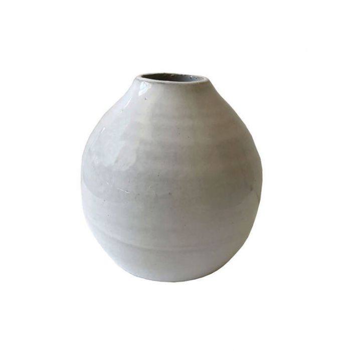 FP Collection Alabaster Vase Squat  ] 175470P - Flower Power