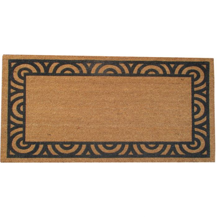 FP Collection Door Mat Jasper Long Grey  ] 176443P - Flower Power
