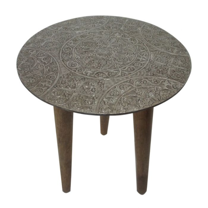 FP Collection Indoor Cairo Side Table  ] 176529P - Flower Power