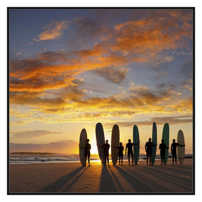 FP Collection Sunset Surf Canvas Wall Art  ] 176780 - Flower Power