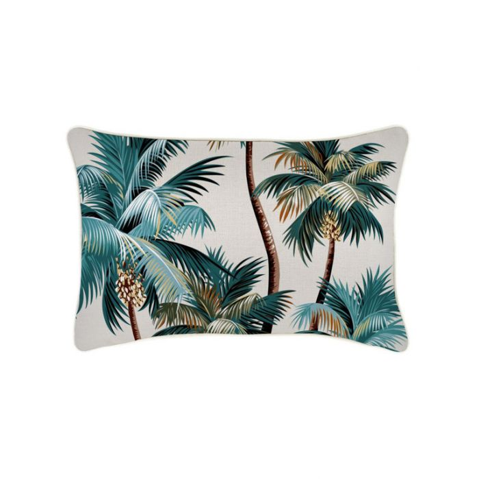 Escape to Paradise Palm Trees Cushion  ] 177082 - Flower Power