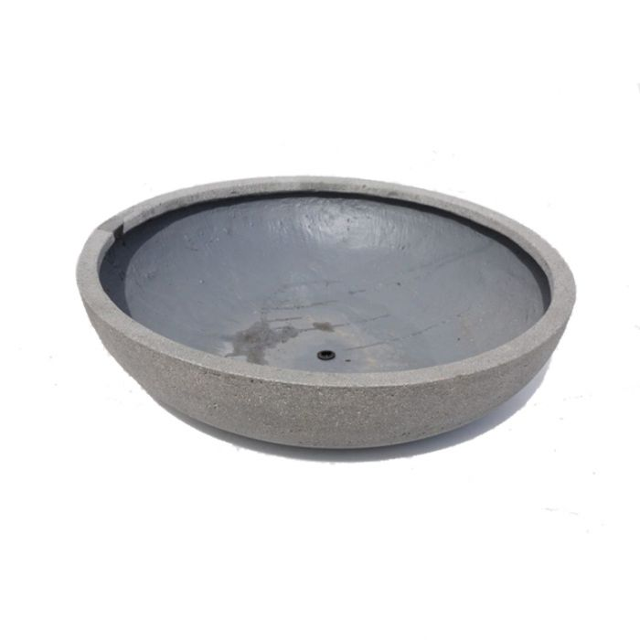 FP Collection Newport Low Bowl Pot Grey  ] 177599P - Flower Power