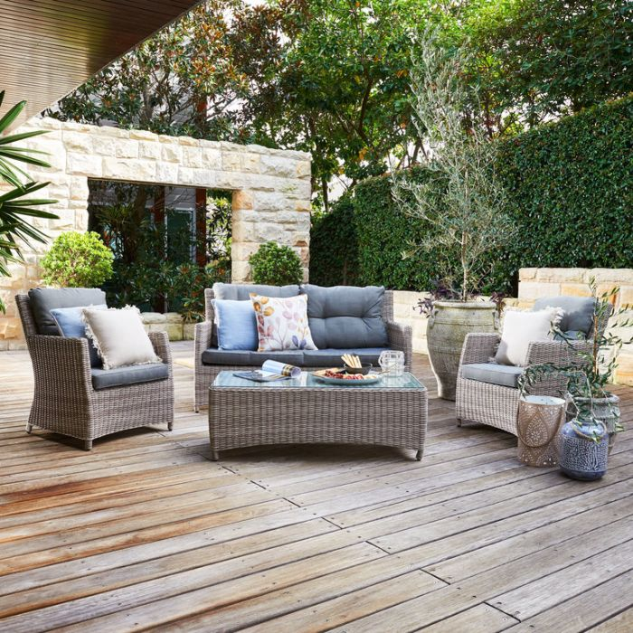 FP Collection Vaucluse Outdoor Lounge Setting  ] 177669 - Flower Power