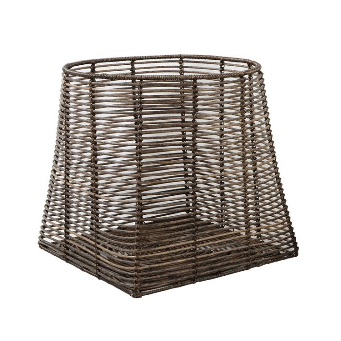 FP Collection The Nile Storage Square Basket  ] 178024P - Flower Power