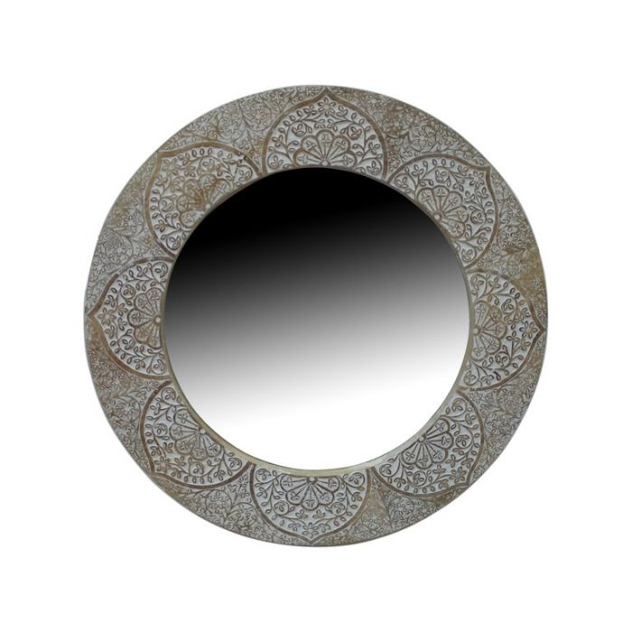 FP Collection Tahlia Timber Round Wall Mirror  ] 178206 - Flower Power