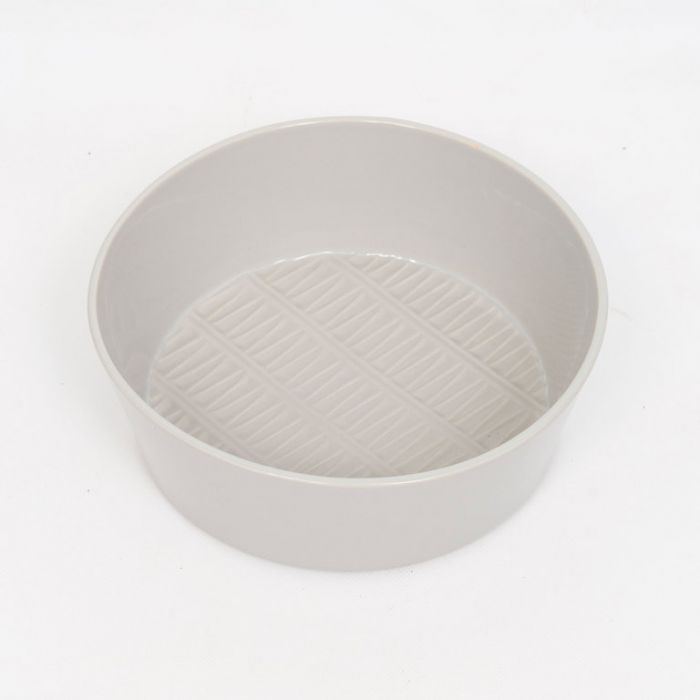 FP Collection Chevron Salad Bowl Grey  ] 178462P - Flower Power