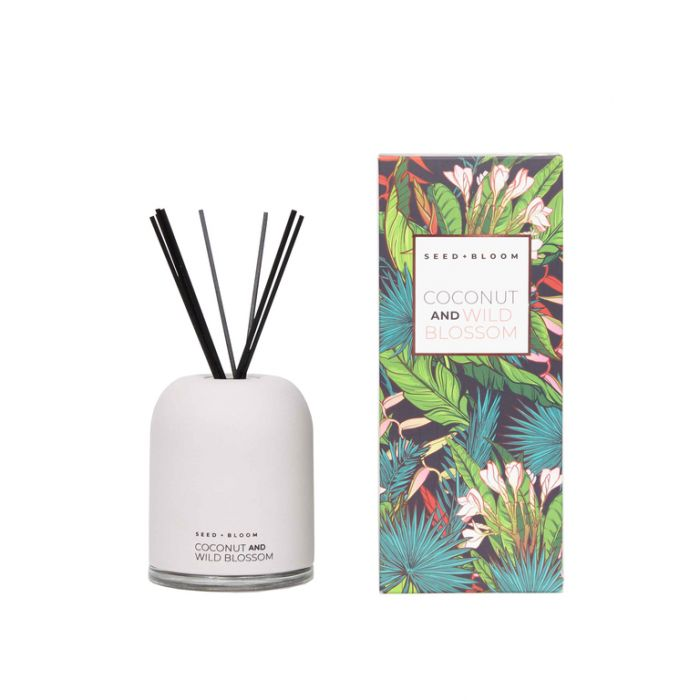 FP Collection Seed+Bloom Coconut & Wild Blossom Diffuser  ] 178767 - Flower Power