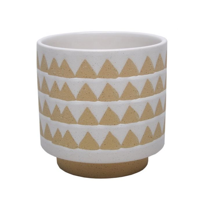 FP Collection Zuni Triangle Planter  ] 179864P - Flower Power