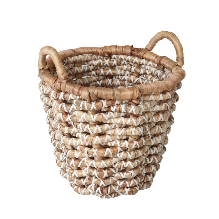 Hutu Water Hyacinth Basket  ] 179986P - Flower Power