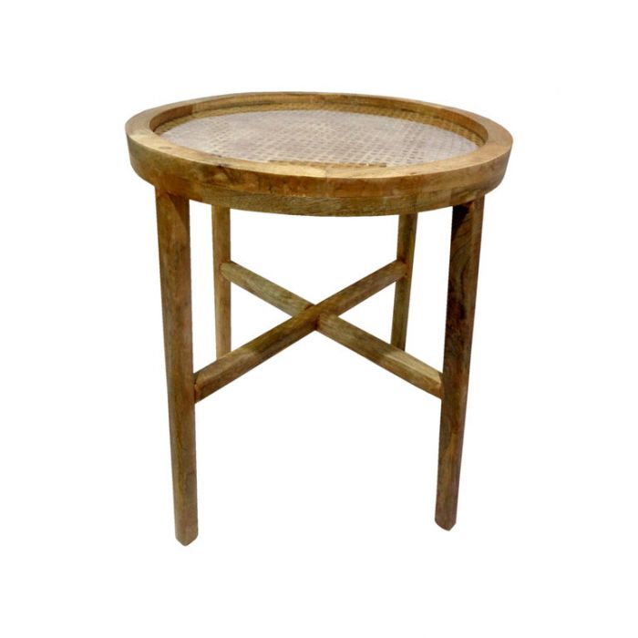 FP Collection Bangalow Rattan Side Table  ] 180131 - Flower Power