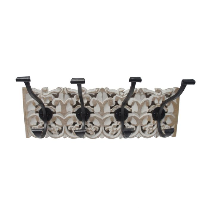 FP Collection Kiara Carved Wall Hook  ] 180192 - Flower Power