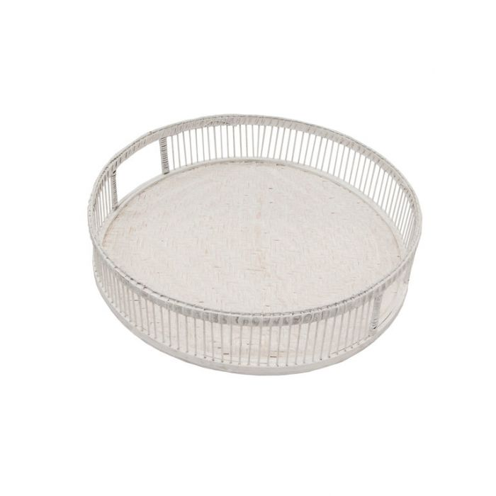 FP Collection Tray Culburra Round White  ] 181470P - Flower Power