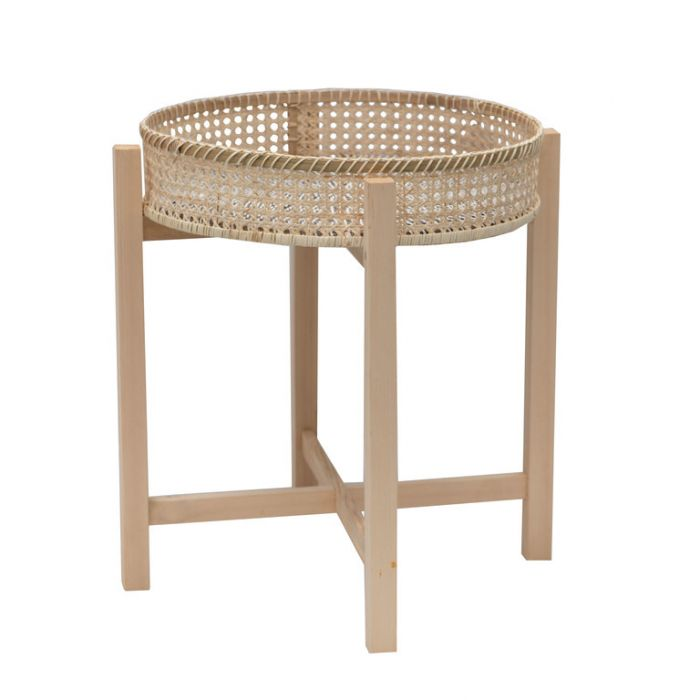 FP Collection Byron Rattan Side Table  ] 181472 - Flower Power